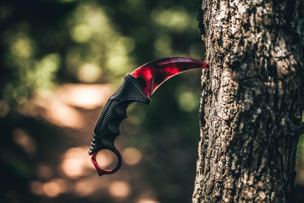 Это просто невероятно шикарно! Ножи из CS:GO в реальной жизни.