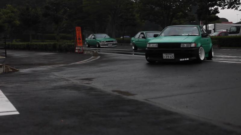 2016 Toyota Hachiroku Meet Oura Tower AE86