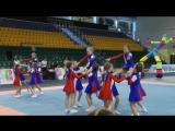 Детская сборная по черлидингу г. Ханты-Мансийска. Открытие II фестиваля среди команд черлидеров