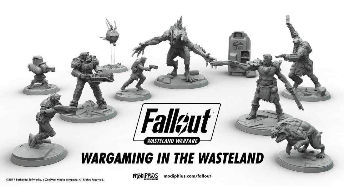 По Fallout выйдет настольная игра с миниатюрными фигурками
