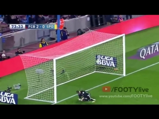 Luis suarez all four goals vs sporting gijon [ english commentary ] 23.04.2016
