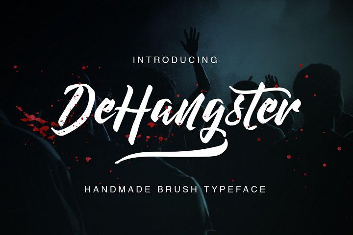 шрифт DeHangster