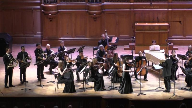Г.Ф.Телеман Концерт для скрипки и трех валторн Елена Корженевич (скрипка)