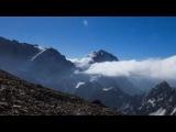Эльбрус - Ергаки - Фаны - Килиманджаро (timelapse)