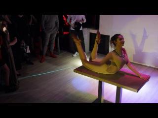 The most flexible ukrainian girl