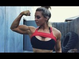 Stephanie Sanzo  Unreal Muscle Babe  Full Workout