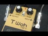 Boss TW-1 T wah twah demo, Msm Workshop