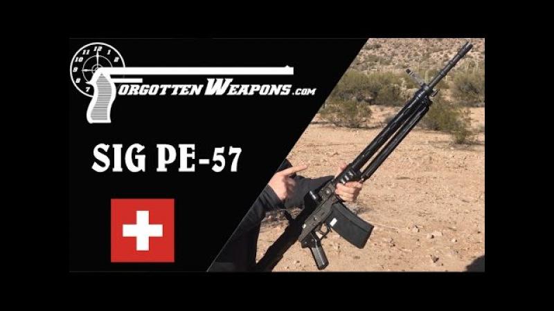 SIG PE-57: Swiss Roller-Delay!