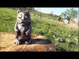 Резьба по дереву для начинающих. Котейка,скульптура.wood carving,cat sculpture htpm,f gj lthtde lkz yfxbyf.ob[. rjntqrf,crekmgne