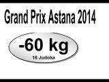 60kg SF = SMETOV, Yeldos (KAZ) - KULIKOV, Dmitriy (RUS) = 2014 Judo G.P. Astana