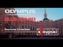 Olympus Killer Features 01 Коррекция перспективы Keystone Correction
