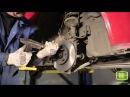 Школы ремонта TRIALLI - Chevrolet Aveo, замена передних тормозных дисков