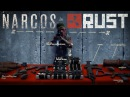 Narcos Title Sequence in Rust