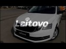 Автошторки Laitovo установка на Skoda Octavia 3 рестайлинг 2017-н.в.