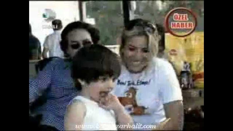 Bergüzar Korel Halit Ergenç ve oğulları Ali ile - KanalD Magazin D - 09.06.2012