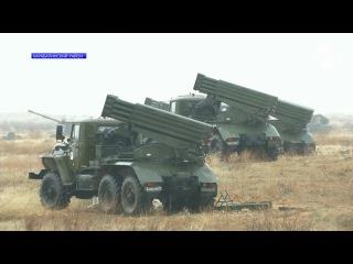 Мотострелки ЮВО провели учения на полигоне Ашулук в Астраханской области