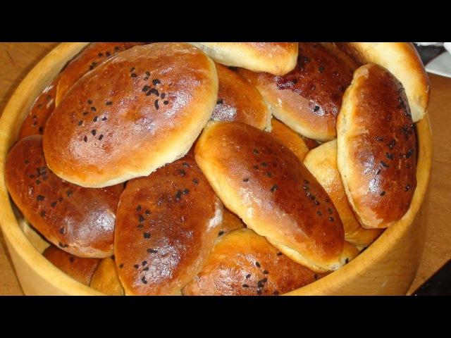 Полезные домашние пирожки в духовке.Useful homemade patties in the oven.