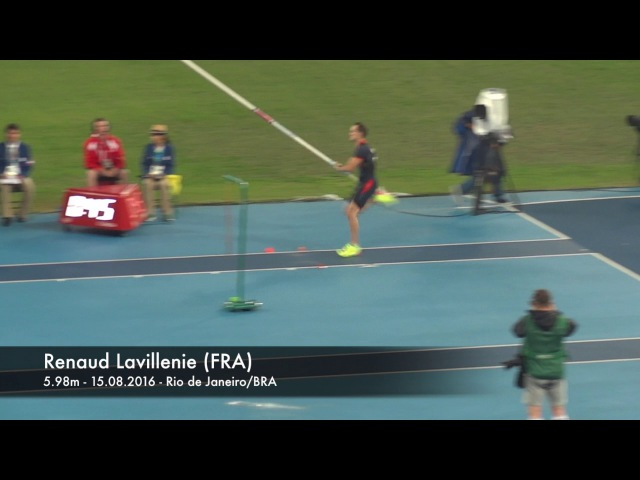 Renaud Lavillenie 5.98 Rio 2016