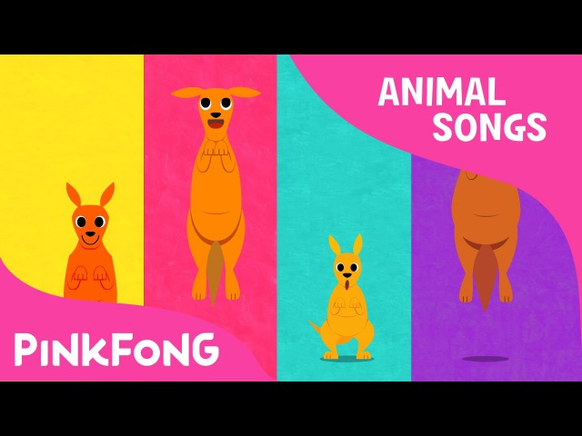 Looby Loo Kangaroo | Kangaroo | Animal Songs | Pinkfong Songs for Children