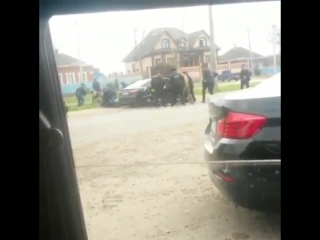В Сети появилось видео задержания убийц полицейских в Астрахани  2017