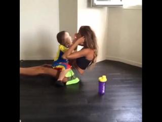 Тренировка для тех, у кого есть ребенок