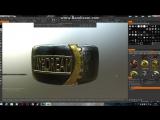 как сделать кольцо в 3D coat
