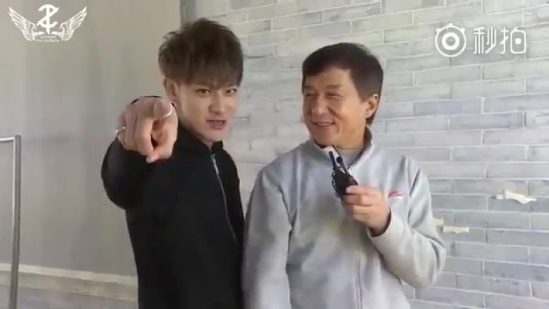 VIDEO 170106 Jackie Chan sending best wishes for upcoming concert tour ENG SUB
