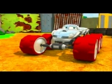 Метеор и крутые тачки 52 серия Неприятности Мультики про машинки