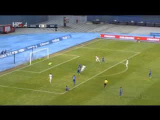 Dinamo - Osijek 0-1, J. Knezevic [2] (HNL 8. kolo), 10.09.2016. HD