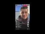 Алексей Воробьев Прямой эфир Instagram со съемочной площадки #UnRealTV Ванкувер Канада 07.02.2017