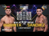 UFC Fight Night - 108 IAQUINTA-SANCHEZ Полный бой