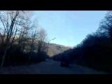 поездка по Абхазии 3 января , раннее утро , морозь на траве .
