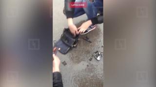 Петербурженка чудом не пострадала при взрыве смартфона в сумочке