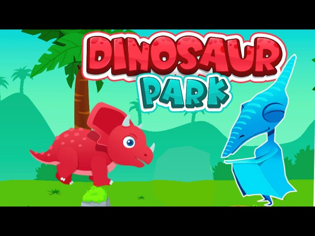 Мир Динозавров - Парк Юрского Периода/Dinosaur Park Explore.Мультик Игра про Динозавров дл...