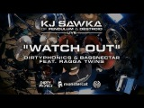 Dirtyphonics &amp Bassnectar - Watch Out (feat. Ragga Twins) KJ Sawka Drum Cover
