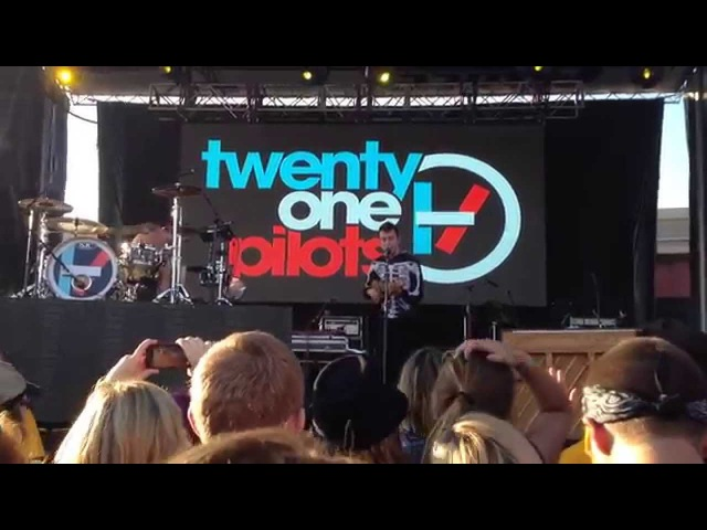 Twenty One Pilots - House Of Gold - LIVE in Tulsa OK on 7/25/14 Center of the Universe Festival