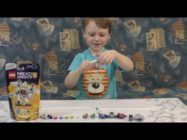 Lego NEXO KNIGHTS/ Лего Нексо Найтс Обзор набора (70337). Рыцарь Ланс и Нексо силы / NEXO Powers