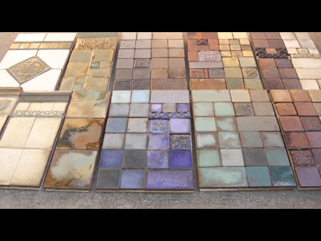 Handmade tiles with Pasadena Craftsman Tile