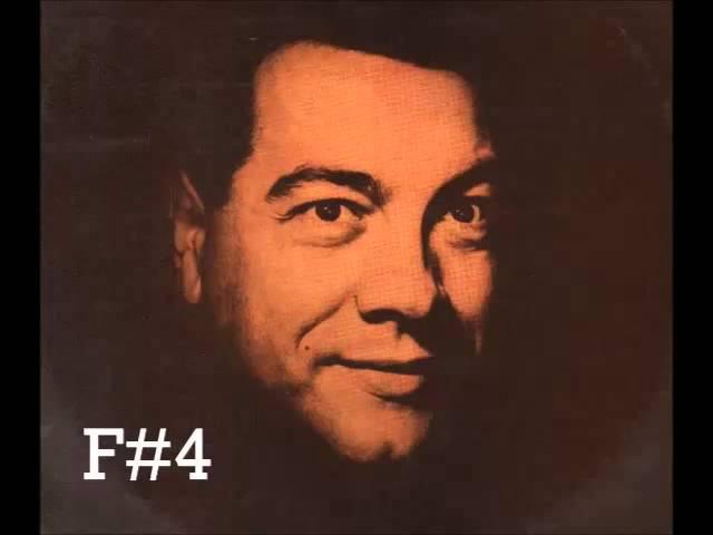 Mario Lanza Vocal Range Bb2 - C5 Alcance Vocal