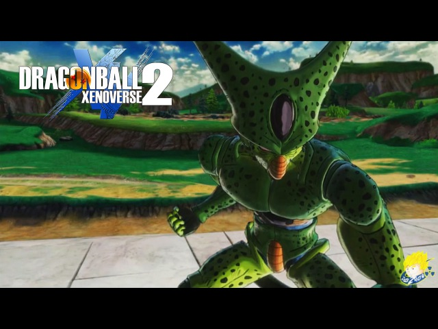 Dragon Ball XENOVERSE 2 - Character Select,Cell (1st form) Vs Turles, BETA DATES【60FPS 1080P】