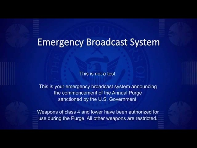 The Purge - Announcement HD