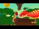 ДИНОЗАВРЫ мультфильм. Мультфильм для детей про динозавров. Dinasours for kids