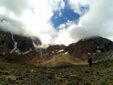 Ледник Актру. Горный Алтай. Автостоп.