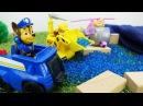 ¡Vamos a Jugar con los juguetes de Patrulla Canina! Los Paw Patrol reparan la presa
