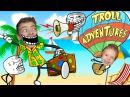 СМЕШНОЕ ВИДЕО ДЛЯ ДЕТЕЙ Приключение мульт Тролля в игре Троллфейс Квест adventures Sof...