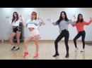 DALSHABET - FRI.SATN - mirrored dance practice video - 달샤벳 금토일 안무영상