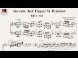 Toccata And Fugue In D minor, BWV 565 - Johann Sebastian Bach, Piano