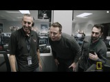 Elon Musk and his SpaceX team, witness the historic landing of a Falcon 9 rocket