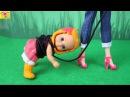 Мультик Барби ИДУТ В ДЕТСКИЙ САД Холодное сердце Эльза Игрушки Игры для девоч...