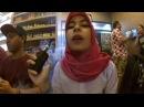 Hijab Girl Vaping Trick Like a Pro
